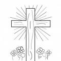 Cruces Para Colorear Semana Santa