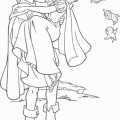 Principe Blancanieves Para Colorear