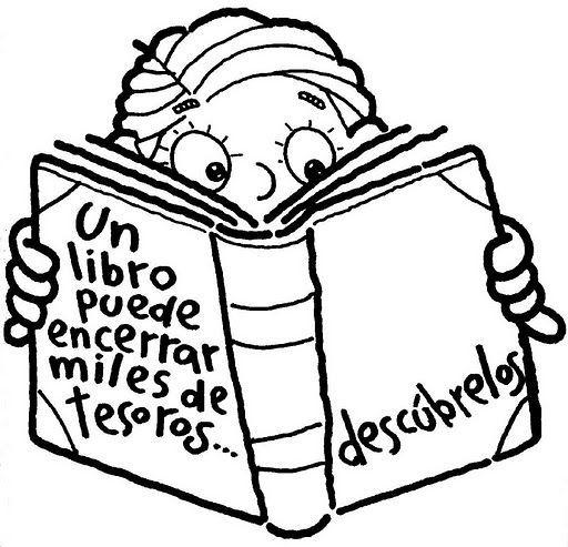 Dibujos De Libros Para Colorear