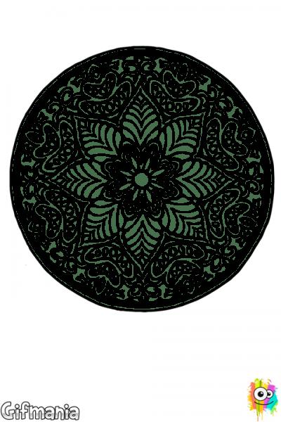 Mandala Difícil