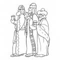 Dibujos De Navidad Para Colorear Reyes Magos