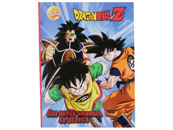 Libro Para Colorear Orig Dragon Ball Z, Nueva Amenaza Se Acerca