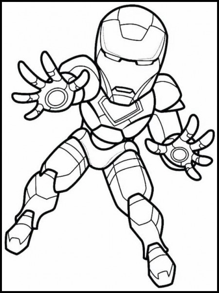 The Super Hero Squad 6 Printable Coloring Pages For Kids