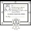 Diplomas Para Colorear E Imprimir