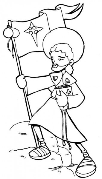 Dibujos Para Catequesis  ApÓstol Santiago El Mayor