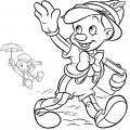 Cuento De Pinocho Para Colorear