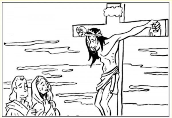 Pin En Crucifixion
