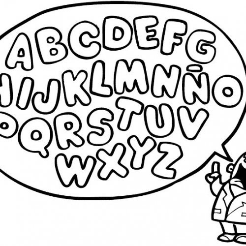 Letras Del Alfabeto Para Imprimir Y Colorear