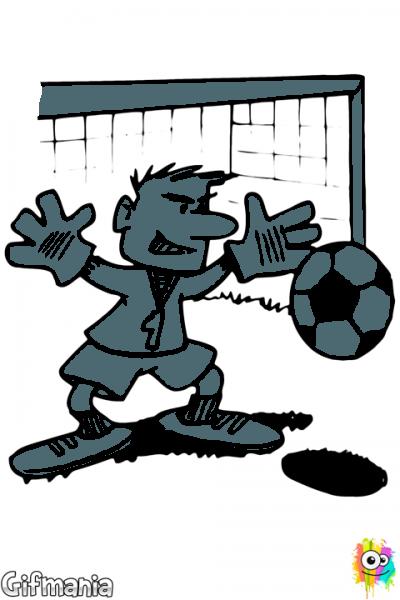 Portero De Fútbol  Portero  Futbol  Dibujo