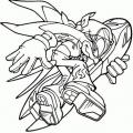 Sonic Para Colorear Online