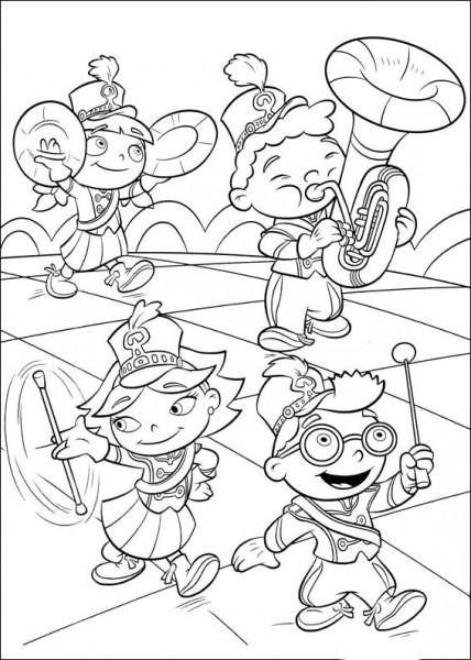Mini Einsteins Dibujos Para Colorear Para Niños 53