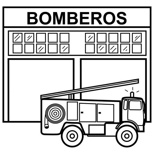 Estacion De Bomberos Para Imprimir