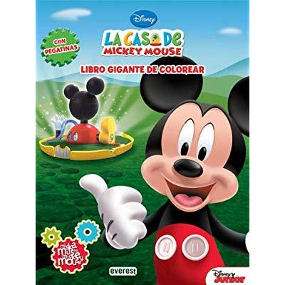 La Casa De Mickey Mouse  Miska, Muska, Mickey Mouse  Libro Gigante