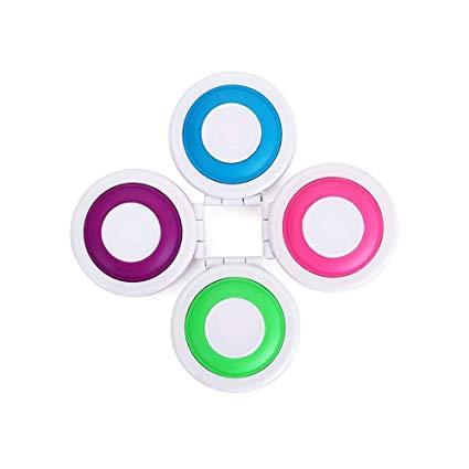 4 Colores Tiza Para Colorear El Cabello Colores Temporales Del