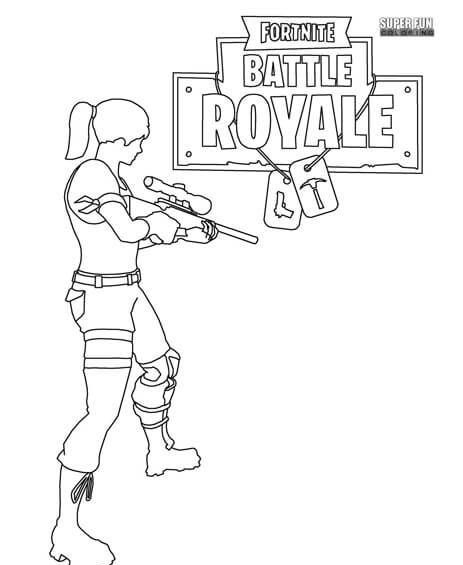 Fortnite Battle Royale Coloring Page Cumpleaños Del Zombie