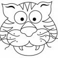 Dibujos Para Colorear De Mascaras De Animales