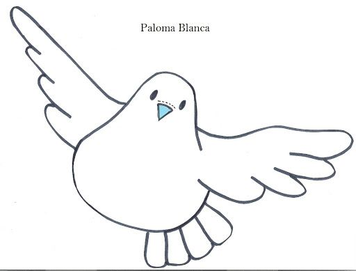 Imagenes De Palomas Para Dibujar Faciles