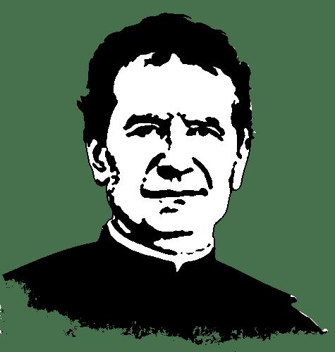 Maria Auxiliadora Y Don Bosco Para Colorear