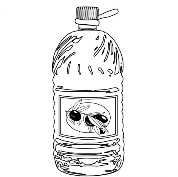 Aceite De Oliva Para Colorear