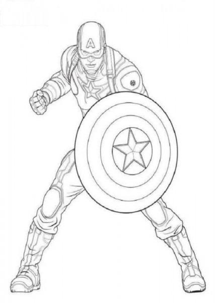 Dibujos De Los Vengadores Para Colorear
