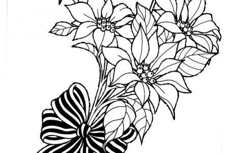 Juegos De Colorear A Flores Y Rosas A4
