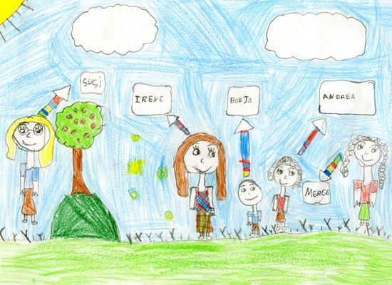 Dibujo De Irene, De 6 Años  Dibujos Para Colorear