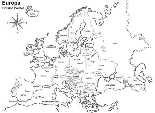 Mapas Para Imprimir » Mapamundi, Continentes, Mapas Tematicos Y