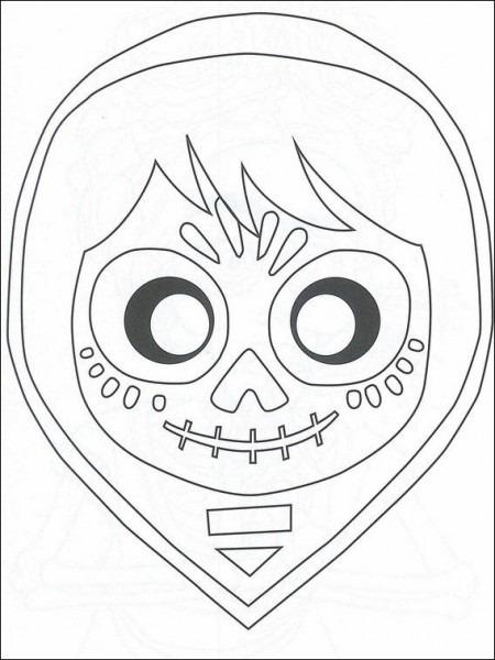 Dibujos Para Imprimir Y Pintar Para Niños Coco 28 En 2020
