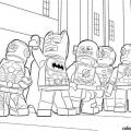 Dibujos De La Liga Dela Justicia Para Imprimir Y Colorear