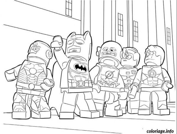 200 + Dibujos Para Colorear De La Liga Dela Justicia