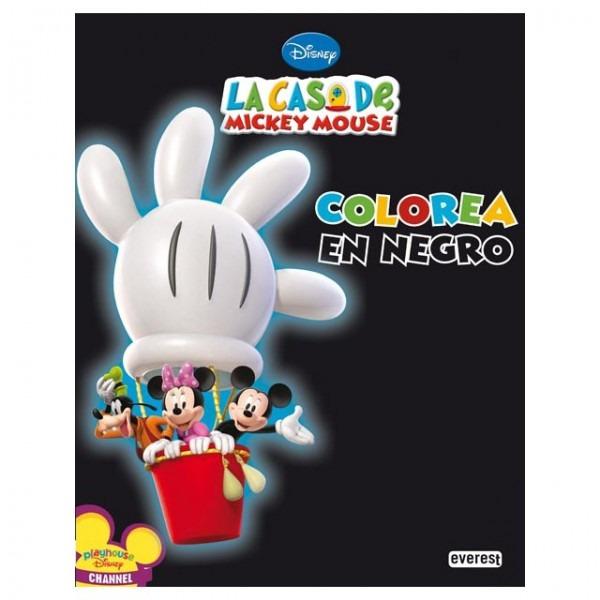 La Casa De Mickey Mouse  Colorea En Negro Libro Pdf