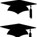 Birretes De Graduacion Para Colorear