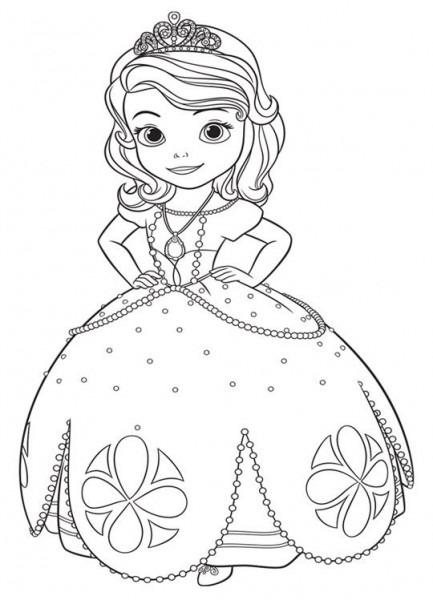 Dibujos Para Pintar  Dibujos De Para Pintar Princesas