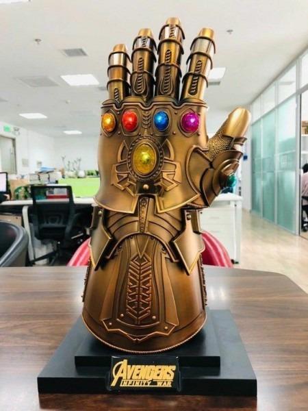 Thanos Infinity Gauntlet Full Metal 1 1 Wearable Cosplay Infinity