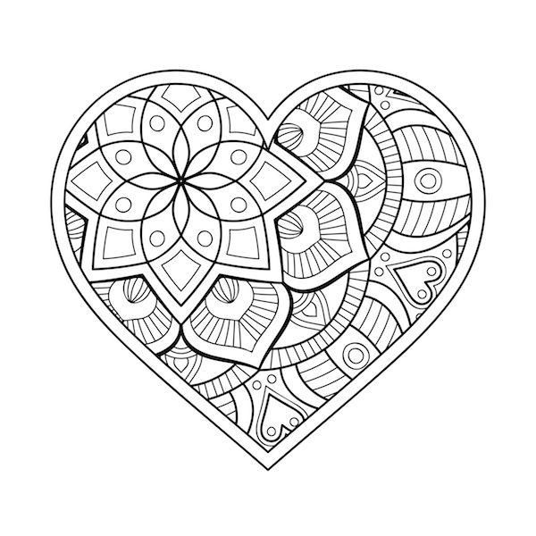 Corazon  Heart  Love  Mandalalove  Mandala  Amor