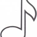 Dibujo Notas Musicales Para Colorear Imprimir