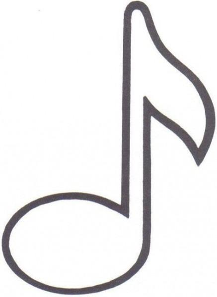Notas Musicais Em Feltro Com Moldes