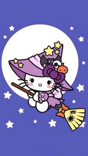 Hello Kitty, Halloween …