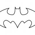 Logo De Batman Para Colorear