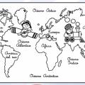 Mapas Infantiles Para Colorear