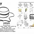 Dibujos Con Ya Ye Yi Yo Yu Para Colorear