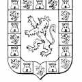 Escudo Andalucia Para Colorear