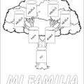 Arbol Genealogico Para Colorear Para Ni?os