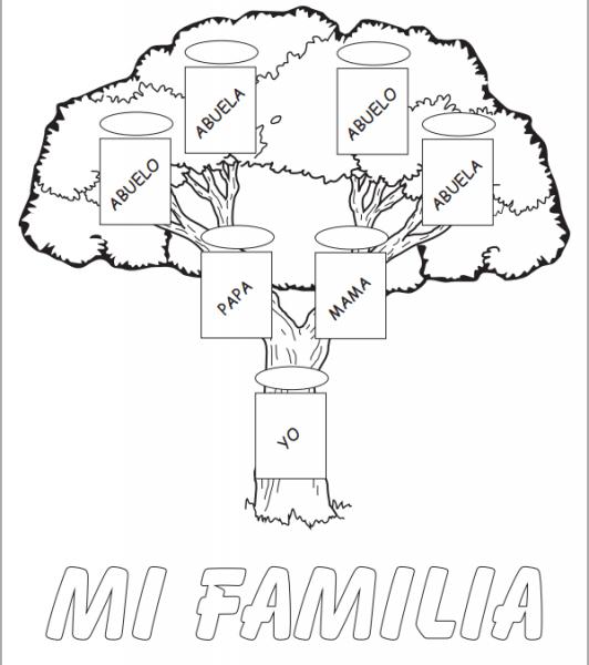 Hacer Arbol Genealogico Creativo Imagui
