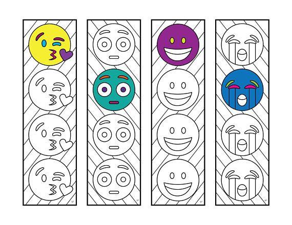 Emoji 3 Bookmarks