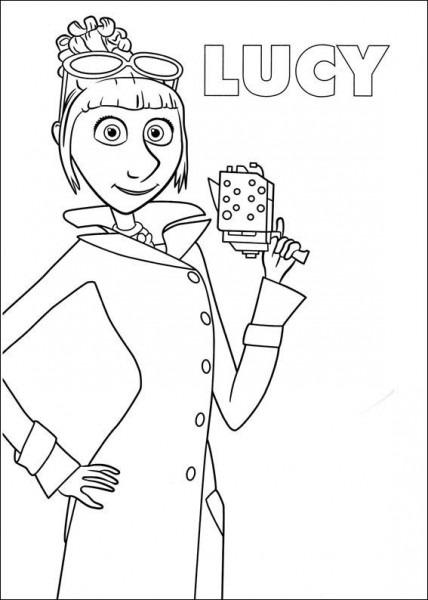 Dibujo De Lucy De Mi Villano Favorito Para Colorear