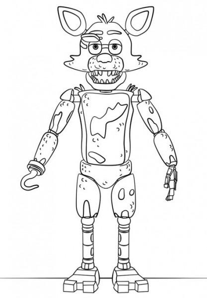 Freddy Planse De Colorat