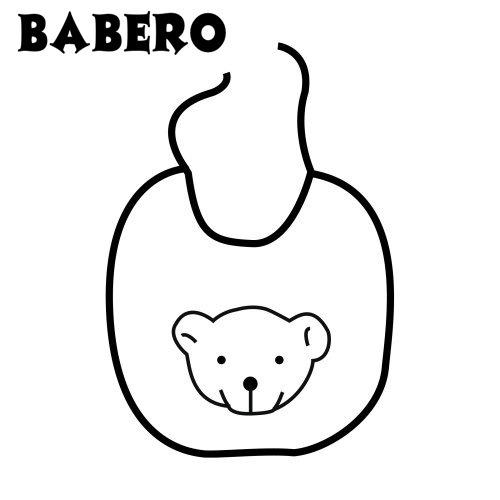 Imagenes De Baberos Para Colorear