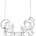 Caratulas Infantiles Para Colorear