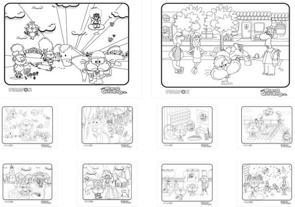Dibujos Para Imprimir De Mundo Gaturro
